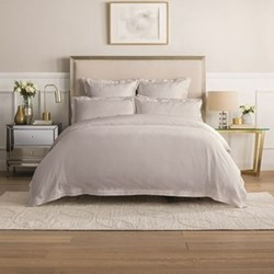 Columbus Dove Cotton Sateen Bed Linen