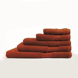Egyptian Luxury Towels - Burnt Red