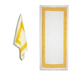 Cornice Lemon Yellow Table Linen