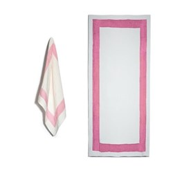 Cornice Rose Pink Table Linen