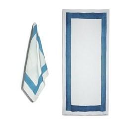 Cornice Sky Blue Table Linen