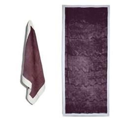 Full Field Grape Purple Table Linen