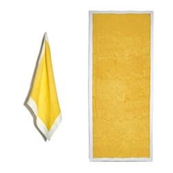 Full Field Lemon Yellow Table Linen