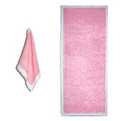 Full Field Rose Pink Table Linen