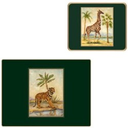 African Animals Tablemats & Coasters