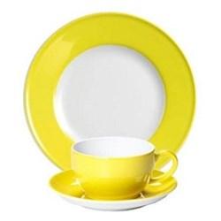 Solid Colour Lemon Dinnerware