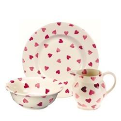 Pink Hearts Dinnerware