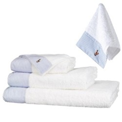 Oxford II Towels Blue