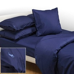 Player Navy Bed Linen