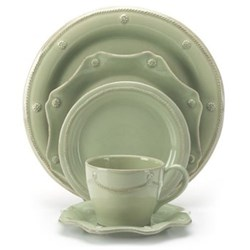 Berry & Thread Pistachio Green Dinnerware