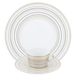 Attraction Gold & Platinum Dinnerware