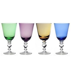 Fanny Coloured Stemware