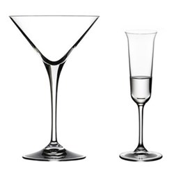 Vinum Martini & Liqueur Glasses