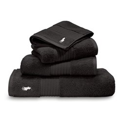 Player Black Towels