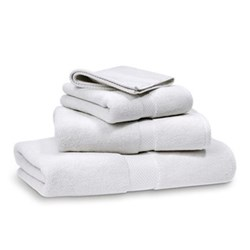 Avenue White Towels