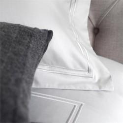 Luxury Cording White Bed Linen