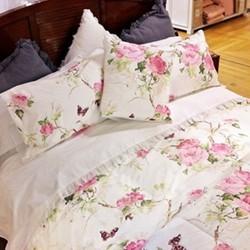 Mer De Rose Bedspreads & Cushions