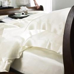 Ivory Silk Bedlinen