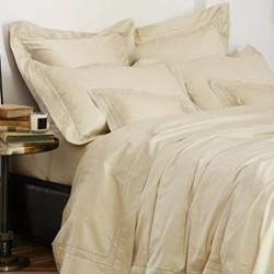 Doppio Ajour Sandstone Bed Linen