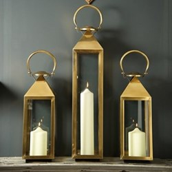 Venetian Brass Lanterns