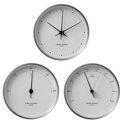 Henning Koppel Steel Clocks & Weather Stations