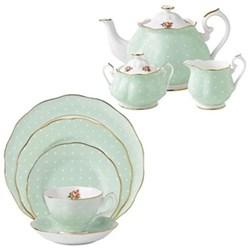 Polka Rose Tea Set