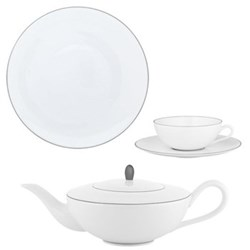 Monceau Couleurs Pearl Grey Dinnerware