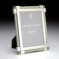 Classic White Shagreen Photo Frames