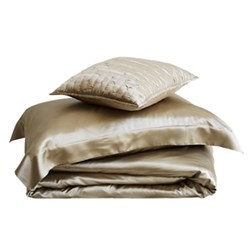 Silk Taupe Bed Linen