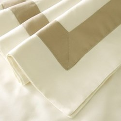 Fiorano Ivory/Taupe Bed Linen