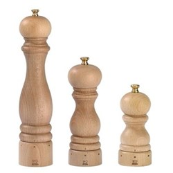 Paris Natural Finish Salt & Pepper Mills