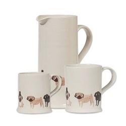 Pug Mugs & Jugs