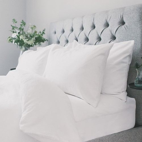 Carnaby Bed Linen - White