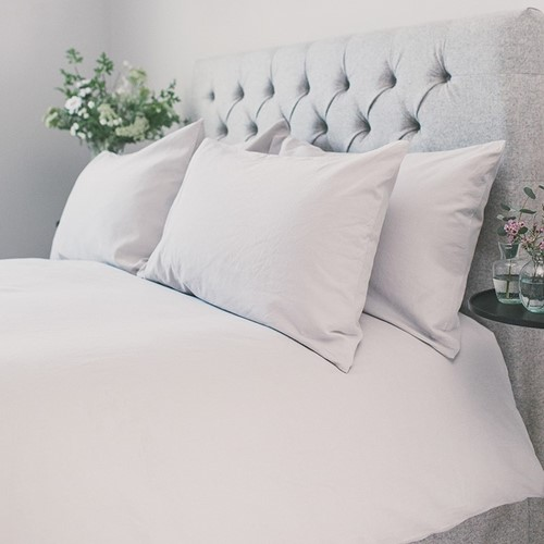 Carnaby Bed Linen - Pearl Grey