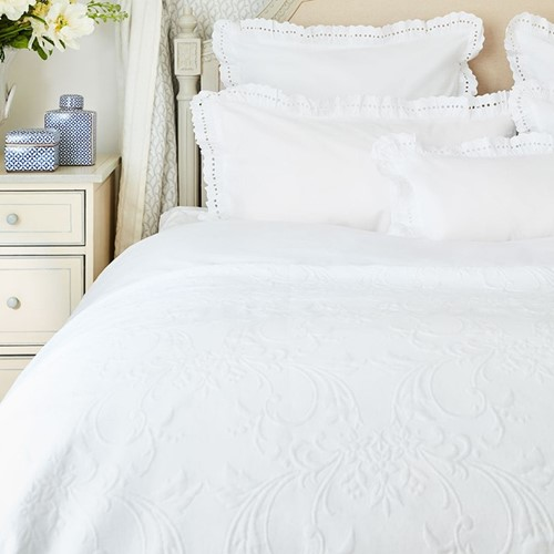 Beaumont Bed Linen- White