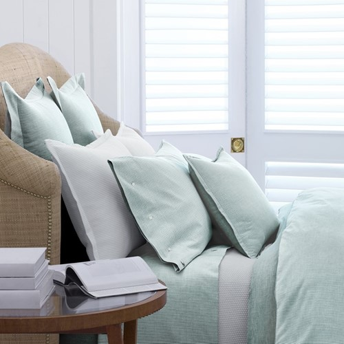 Oxford Bed Linen- Evergreen