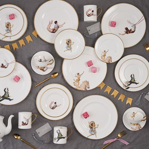 The Show Must Go On Dinnerware